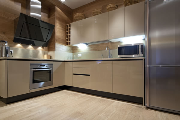 Contemporary Ivory Kitchen