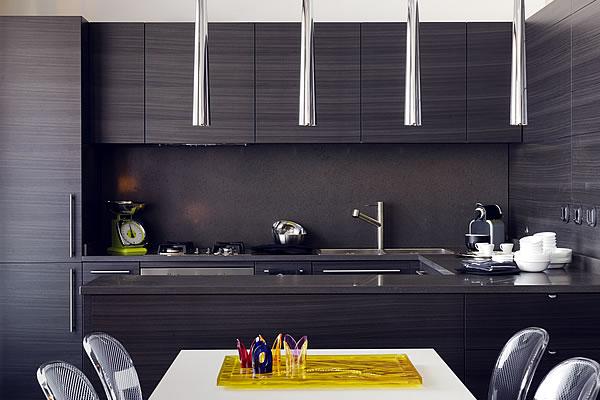 Hacienda black kitchen