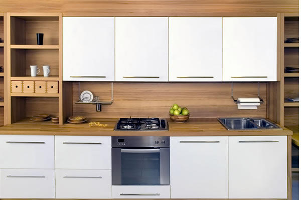 Ivory and Oak Kitchen