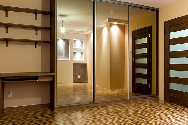 Sliding Mirror Wardrobe