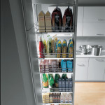 Tall Larder Chrome