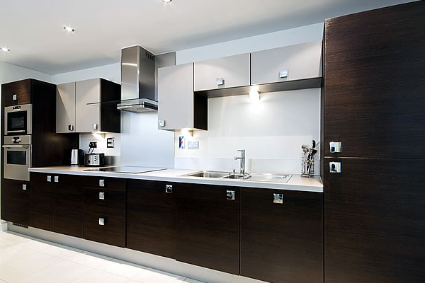 Walnut and Ivory Kitchen