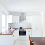 White Contract Kitchen